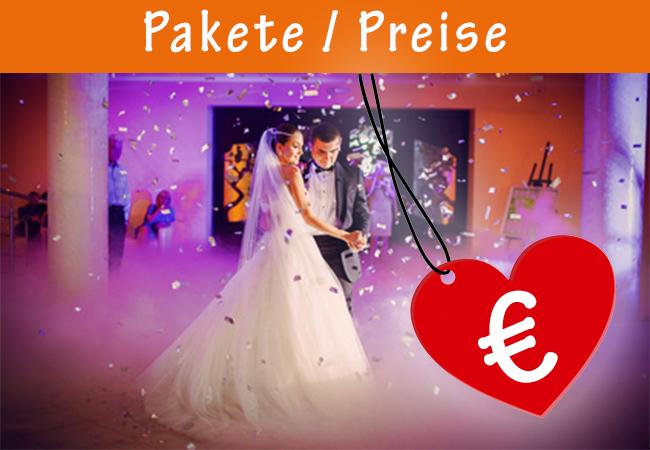 Schnittvogel Hochzeitsvideo - Pakete / Preise